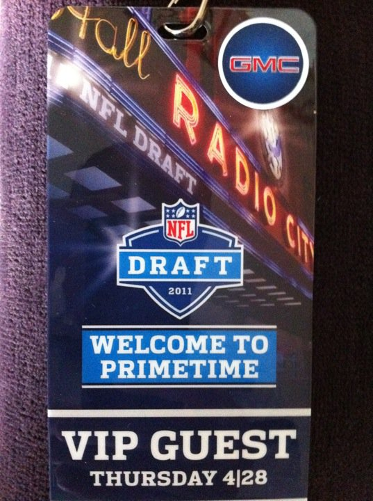 I'm Going To The 2011 NFL Draft!
