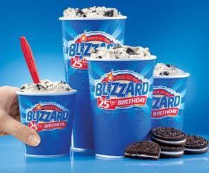 Dairy Queen $1.99 Mini Blizzard