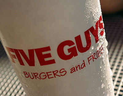 Review: Five Guys Cheeseburger