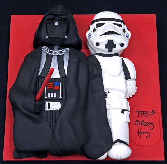 wars darth vader stormtrooper birthday cake s 6th wars lego cake