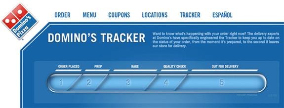 pizza tracker dominoes