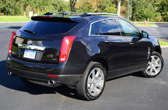 Review 2012 Cadillac Srx Awd