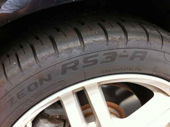Cooper Rs3 A Review >> Review Cooper Zeon Rs3 A All Season Tires