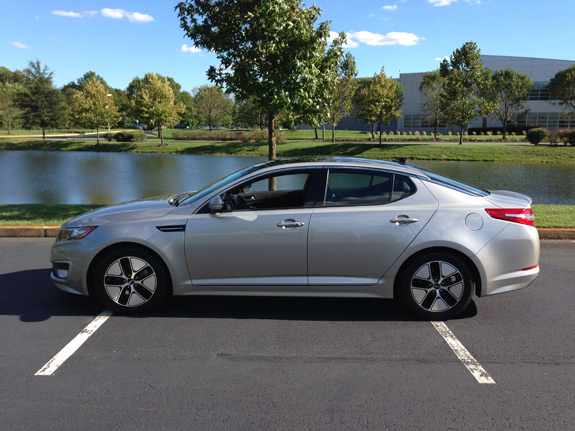 review 2012 kia optima hybrid premium. Black Bedroom Furniture Sets. Home Design Ideas