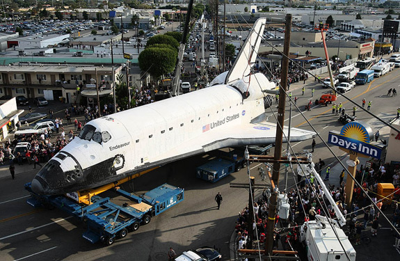 space shuttle endeavour time lapse - photo #6