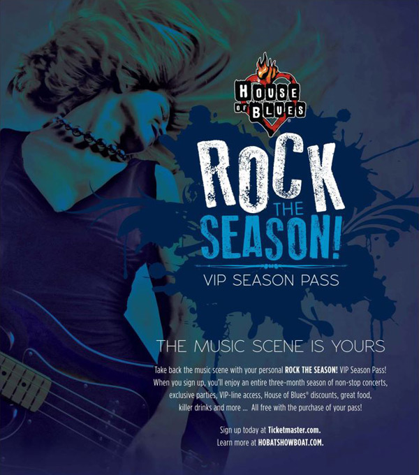 House of Blues Season Pass