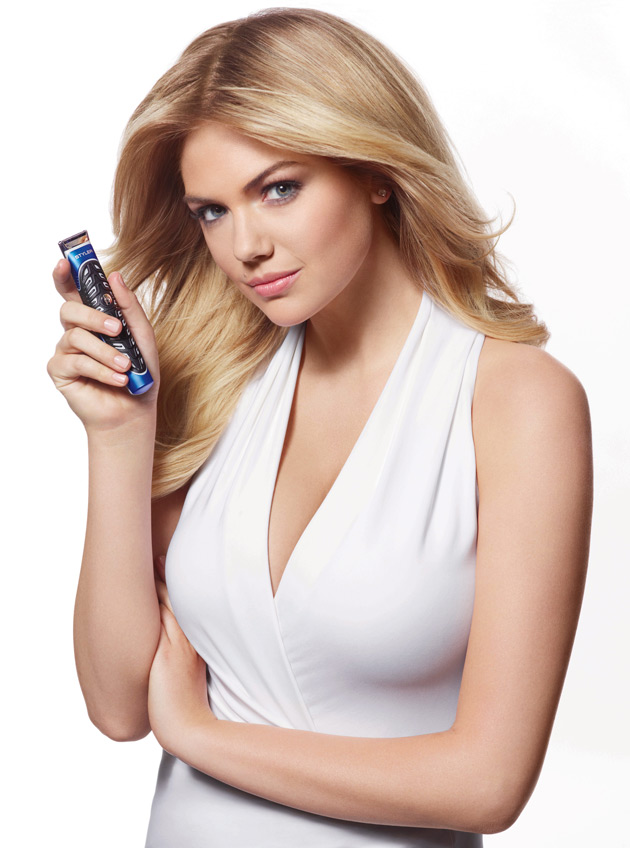 Kate Upton For Gillette