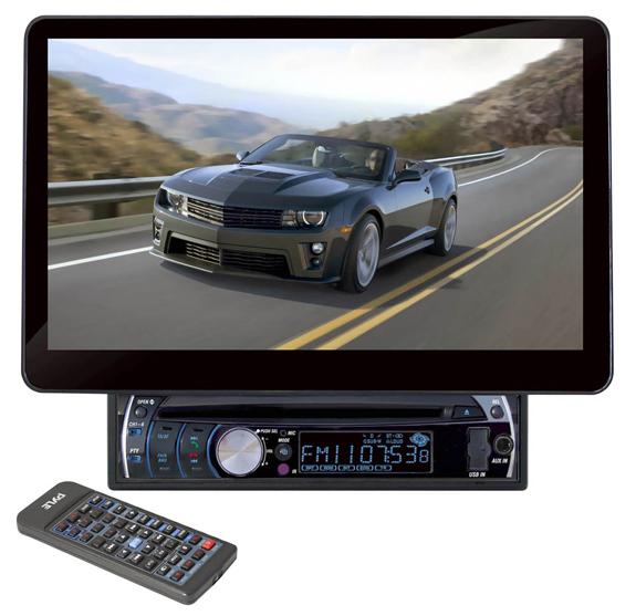 Pyle Audio 10.1-inch In Dash Touch Screen Bluetooth/DVD Receiver (PLD10BT)