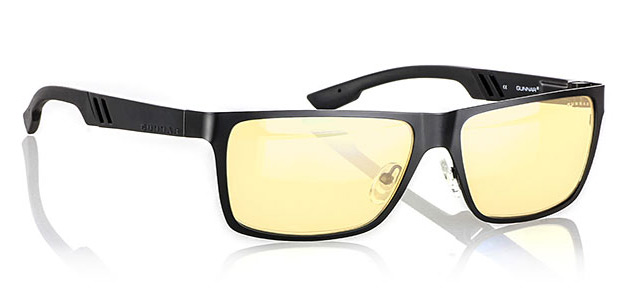 Gunnar Vinyl Onyx Glasses