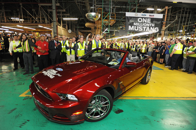 One Millionth Mustang