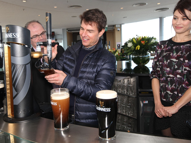 Tom Cruise At Guinness