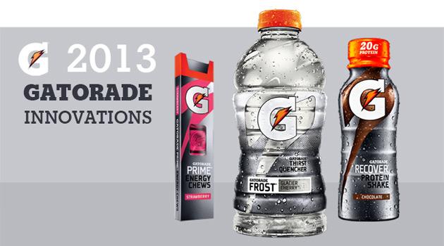 2013 Gatorade Innovations