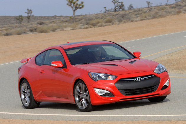 blistering the pavement in a 2013 hyundai genesis sport coupe 3 8 track. Black Bedroom Furniture Sets. Home Design Ideas