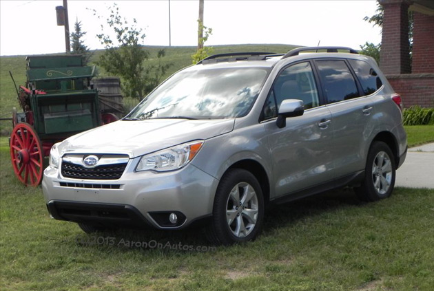 2014 subaru forester is going places no roads required. Black Bedroom Furniture Sets. Home Design Ideas
