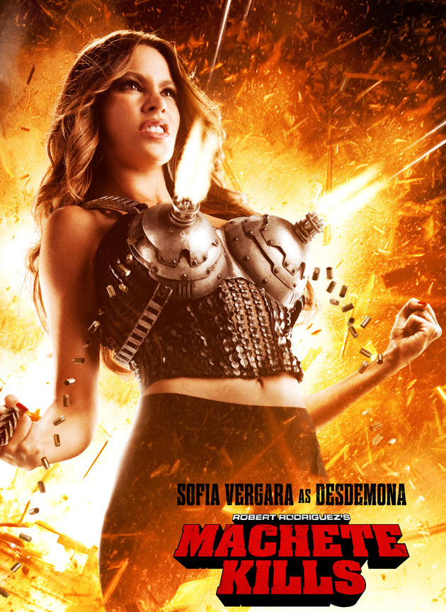 MACHETE KILLS Poster With Sofia Vergara