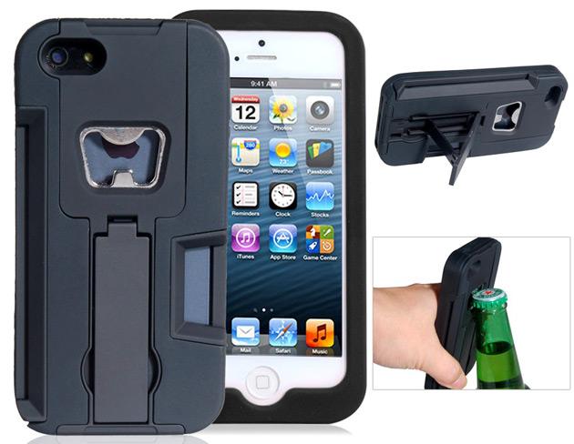 rugged bottle opener iPhone 5 case