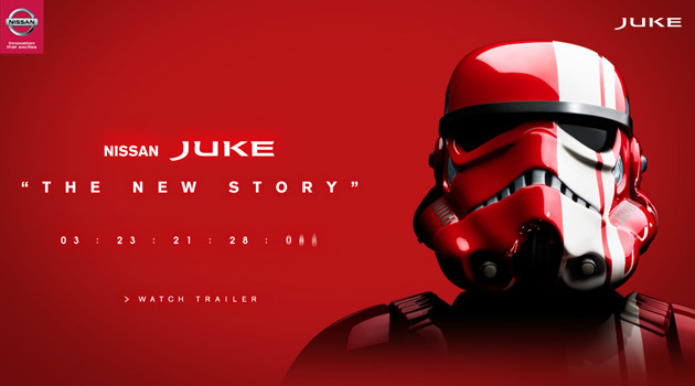 Nissan JUKE - Star Wars