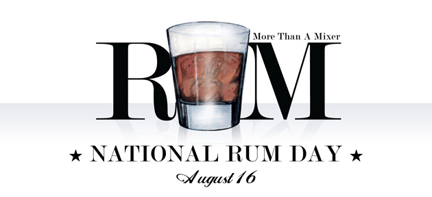 National Rum Day Banner