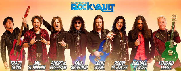 Raiding The Rock Vault - Band Members