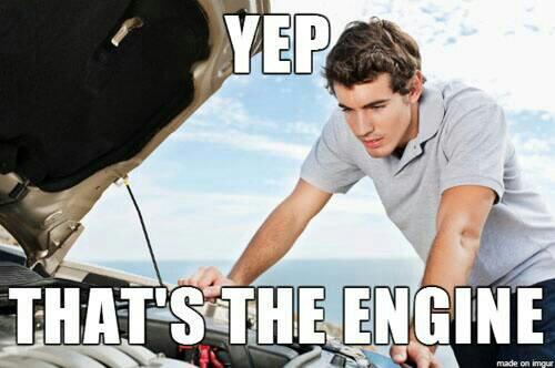 Yep That's The Engine