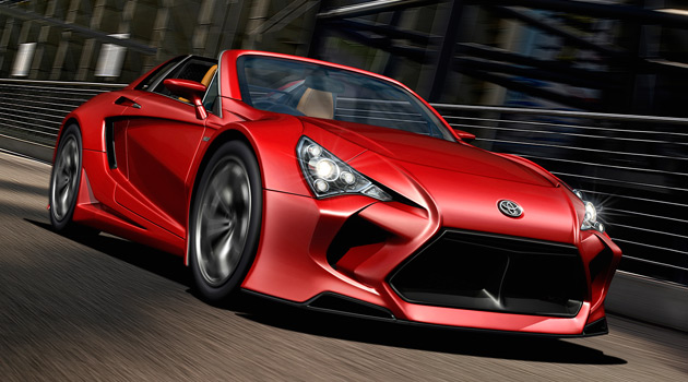 Superb Toyota Supra Rendering