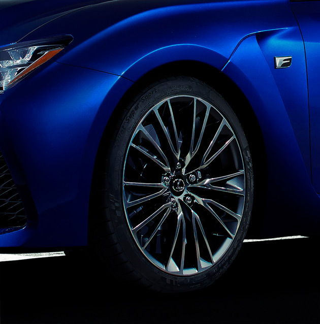 Lexus F Debut at NAIAS in Detroit