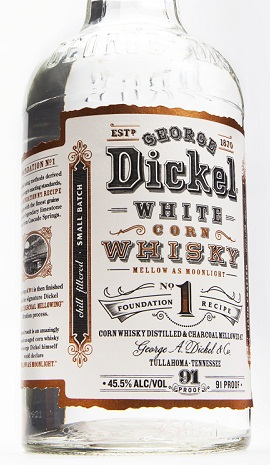 George Dickel White Corn Whisky Foundation No. 1 Recipe