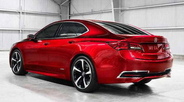 acura tlx prototype doesn 39 t look half bad. Black Bedroom Furniture Sets. Home Design Ideas