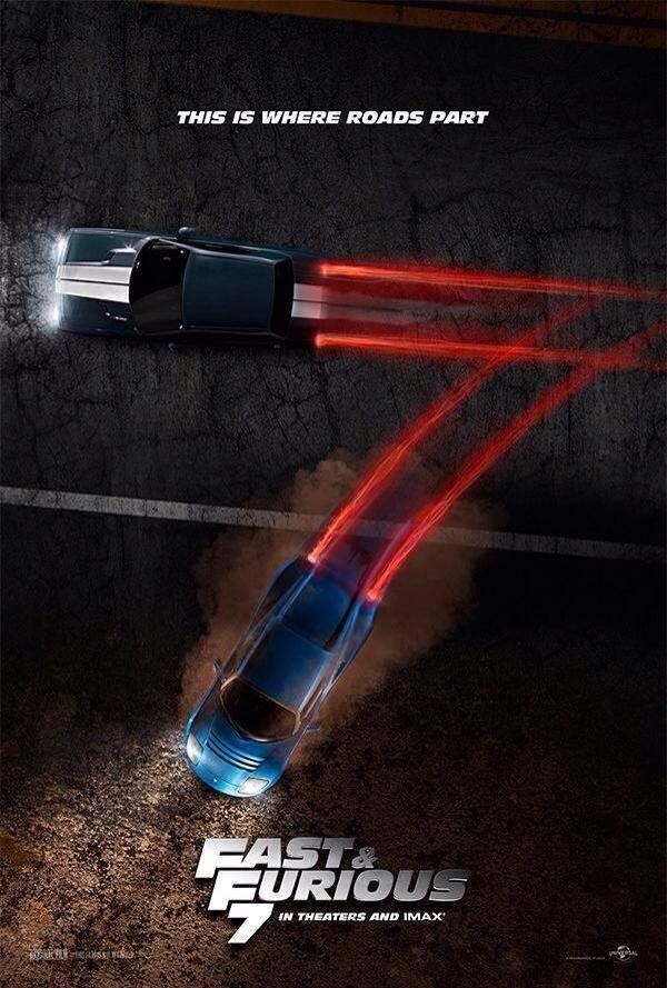 Fast and Furious 7 Teaser Poster
