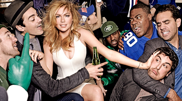 Kate Upton - Super Bowl Party