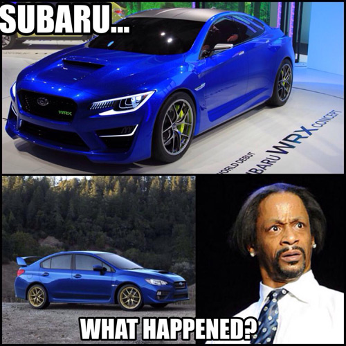 Subaru - What Happened?