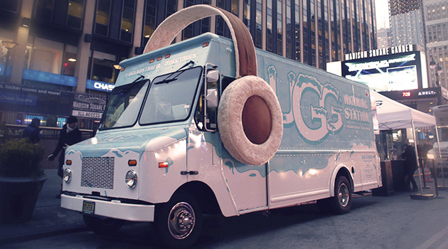 UGG Warming Truck in NYC