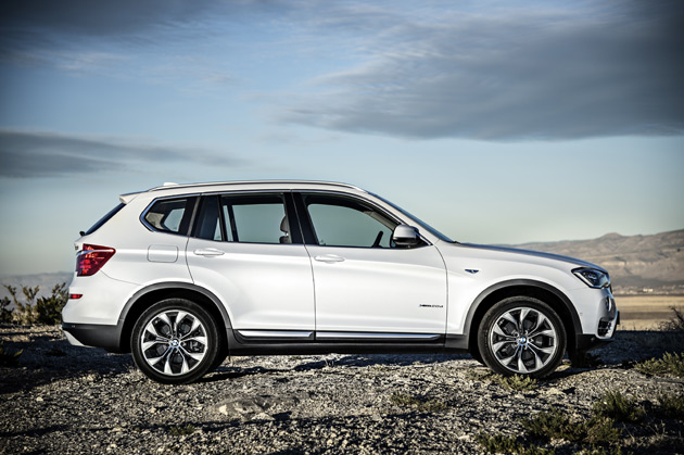 2015 bmw x3 gets updated styling diesel option. Black Bedroom Furniture Sets. Home Design Ideas