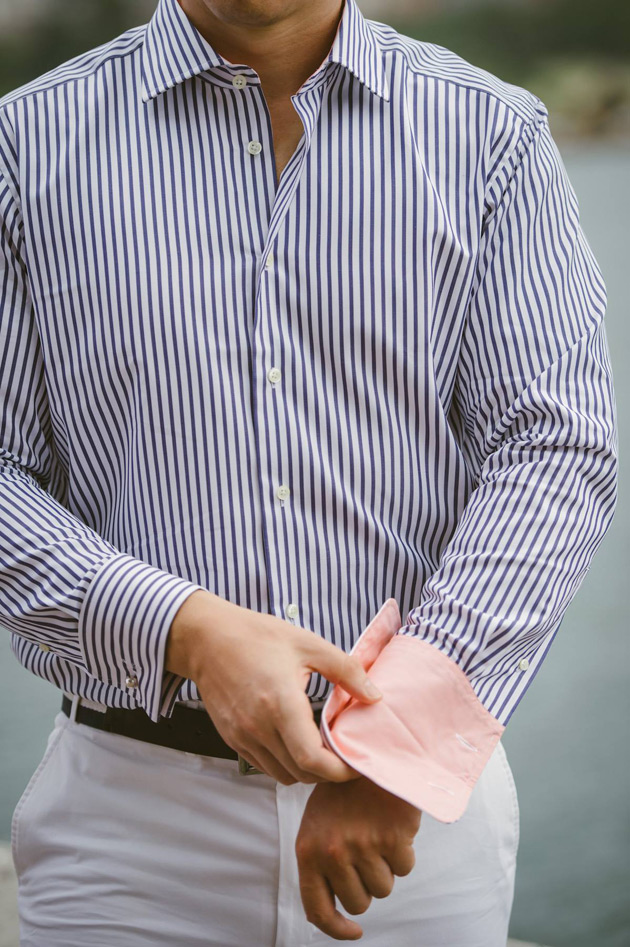 Philippe Perzi Vienna - Closeup of Shirt