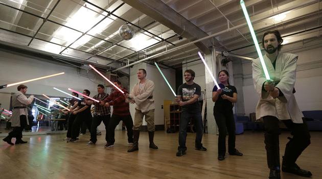 Star Wars lightsaber class