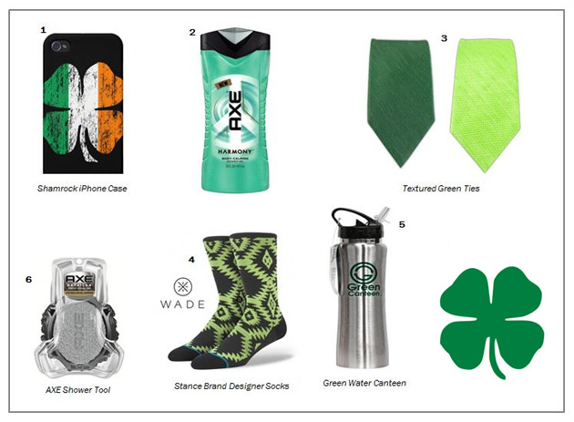 AXE St Patrick's Day Giveaway