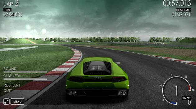 Lamborghini Huracan online simulator