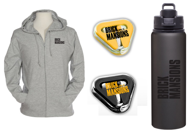Brick Mansions Prize Pack