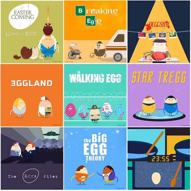 Egg TV Show Posters