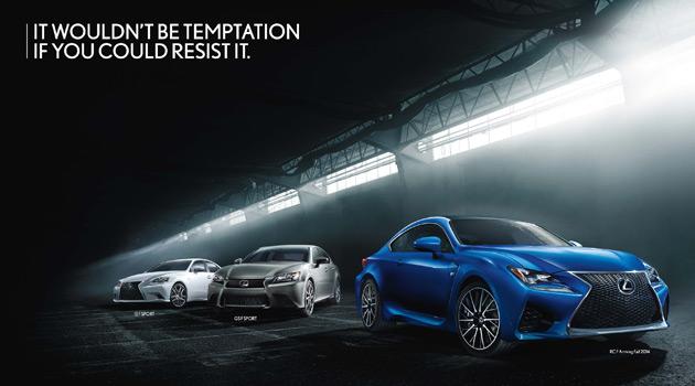 Lexus Performance Campaign