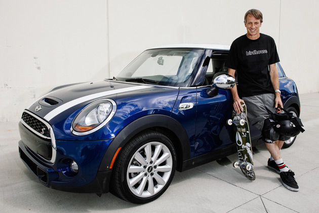 MINI Partners With Tony Hawk