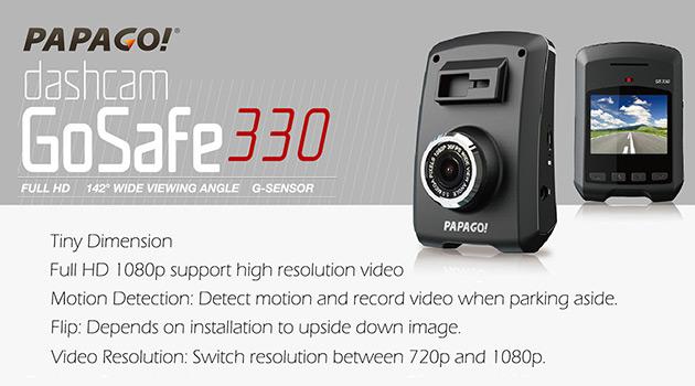 Papago-GoSafe-330-Dashcam