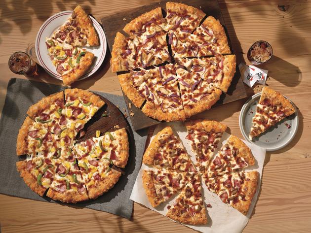 Pizza Hut - New Line Of BBQ Pizzas