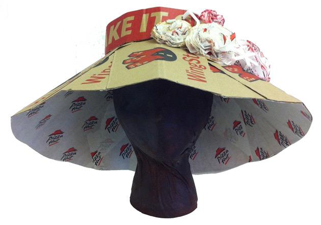 Pizza Hut Kentucky Derby Hat