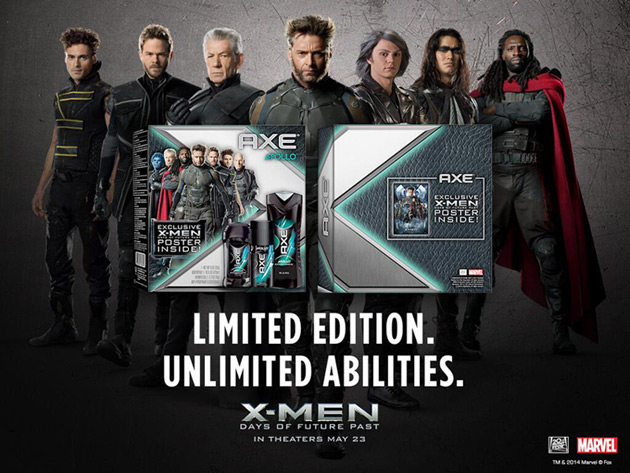 AXE X-Men: Days of Future Past Gift Set