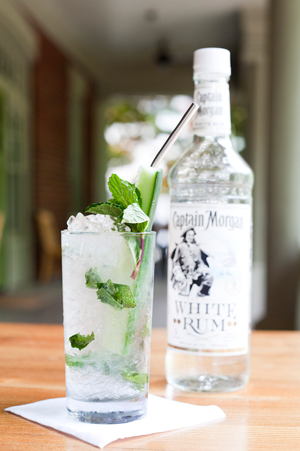 Mint Mutiny Cocktail - Captain Morgan White Rum