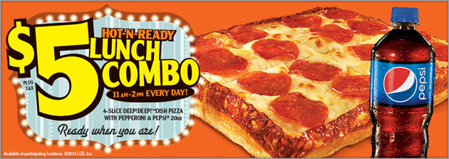 Little Caesars Lunch Combo