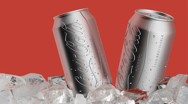 Coca cola gets a colorless eco friendly can redesign for Coke can heater
