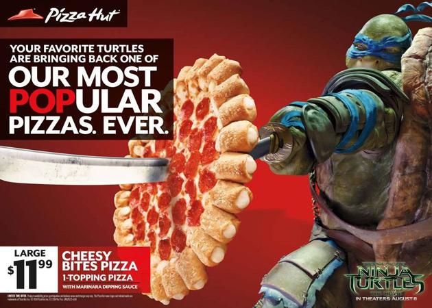 Pizza Hut - TMNT