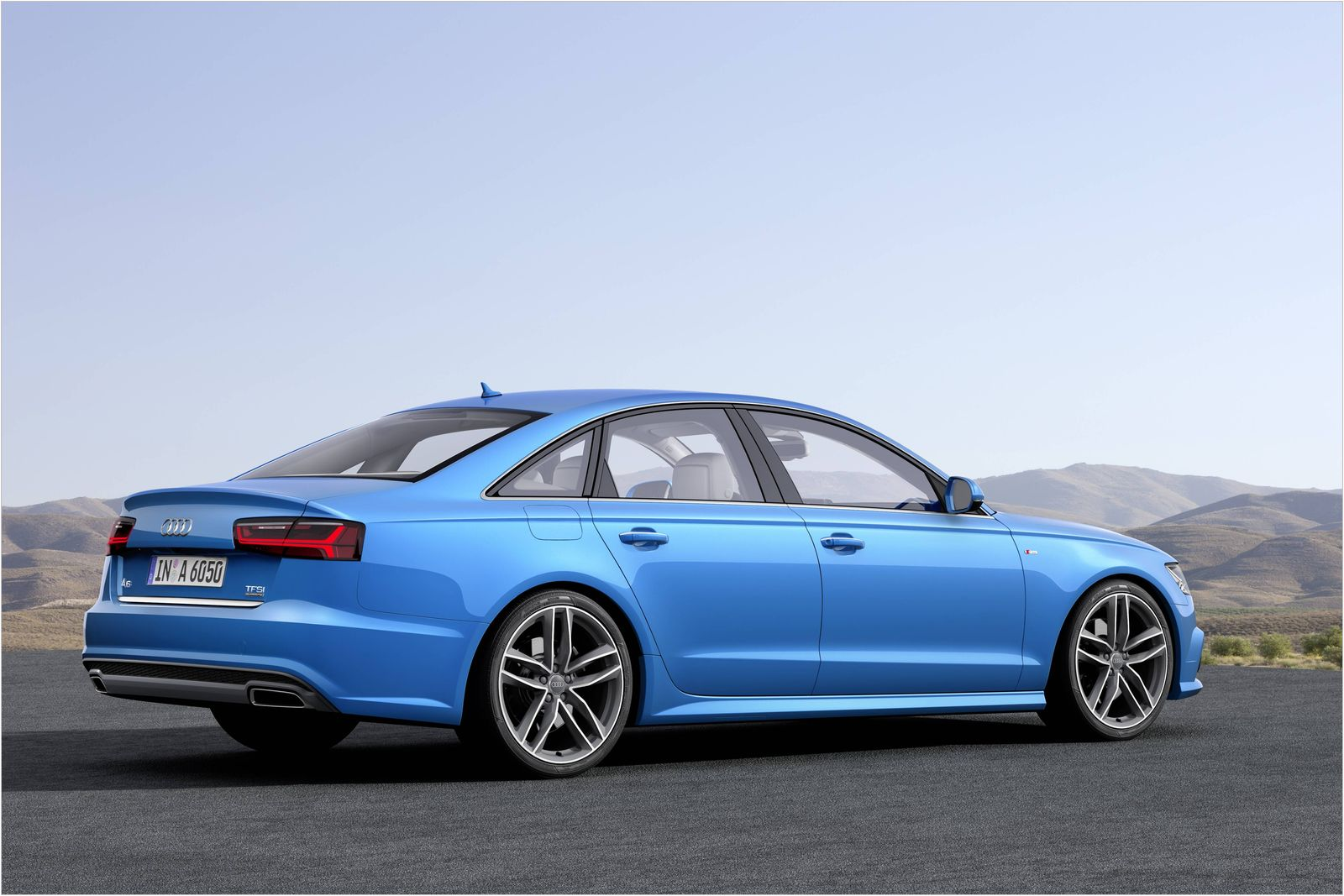 audi a6 gets refresh for 2015. Black Bedroom Furniture Sets. Home Design Ideas